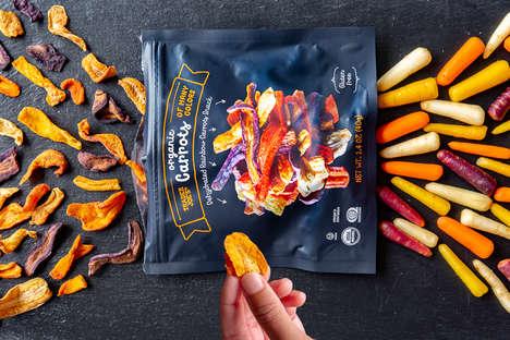 Heirloom Carrot Chips