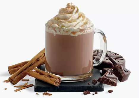 Spiced Mexican Hot Cocoas