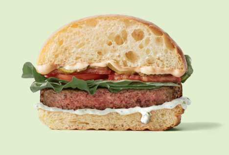 Plant-Based Lamb Burgers