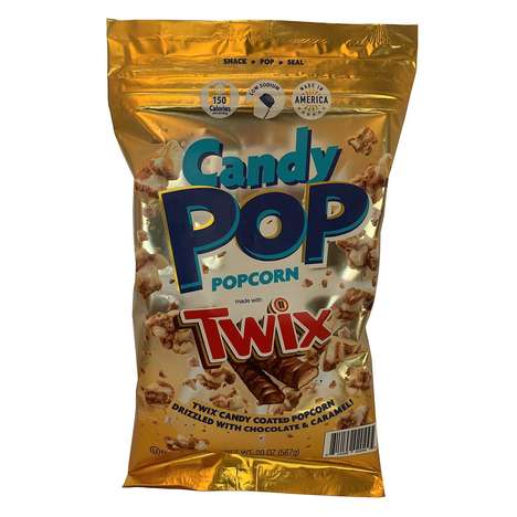 Candy Bar-Infused Popcorns