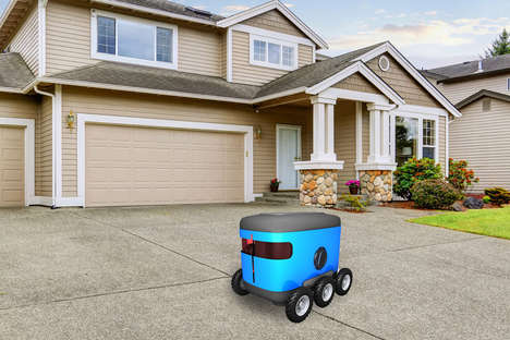 Delivery Robot Navigation Systems