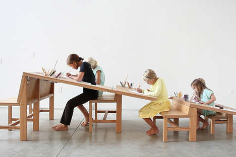 Multigenerational Desk Designs