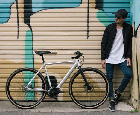 Sleek Urban Commuter eBikes