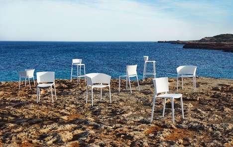 Stylish Sea Plastic Furniture