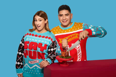 Food-Themed Holiday Sweaters