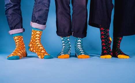 Vibrant African Pride Socks