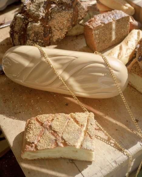 Baguette-Inspired Handbags