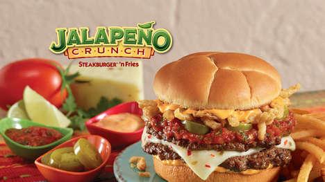 Festive Jalapeño-Topped Burgers