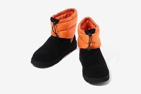 Ripstop Nylon Cozy Boots