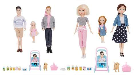 Inclusive Family Doll Sets