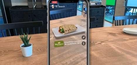 Interactive AR Food Ads