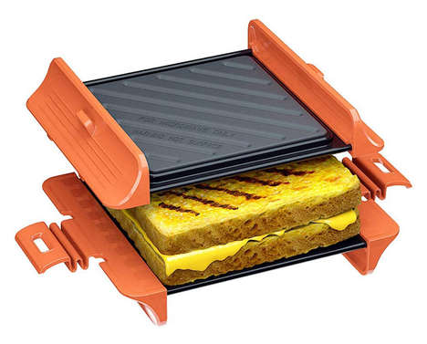 Microwave-Powered Panini Presses