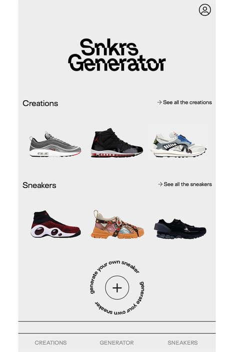 Customizable Sneaker Apps