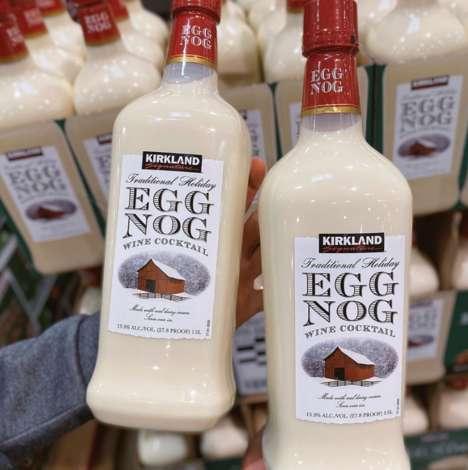 Ready-to-Drink Egg Nog Cocktails