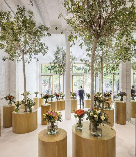 Forest-Like Flower Shops