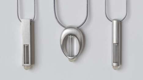 Futuristic DNA Necklaces