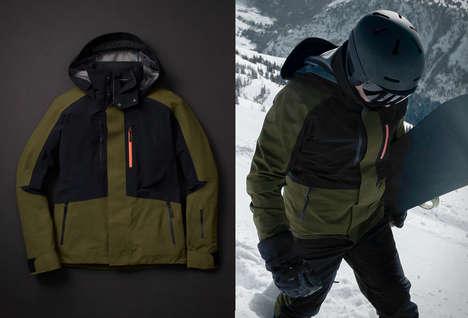 Seam-Sealed Winter Sport Jackets