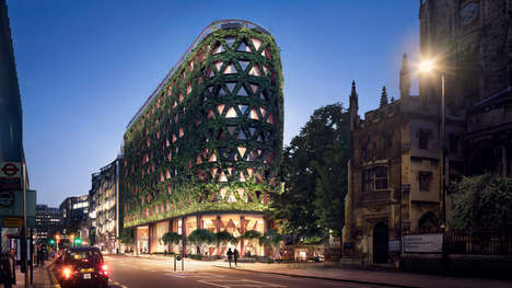 London's Citicape House is Set to Become Europe's Largest Living Wall