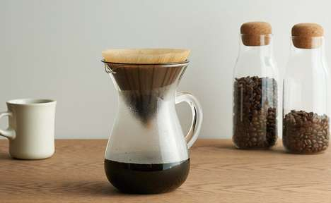 Slow-Brew Coffee Containers