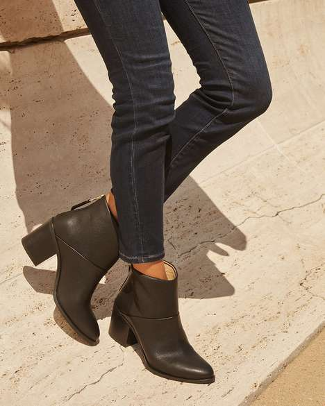 Responsibly-Made Heeled Boots