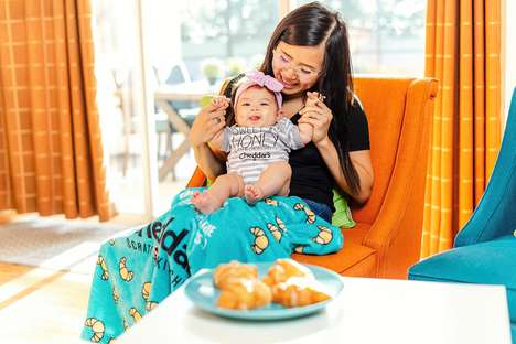 Croissant-Shaped Baby Pillows