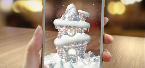 Mobile AR Holiday Promotions