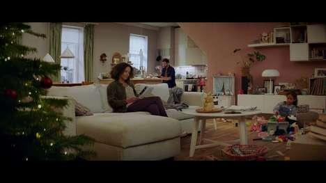 Rap-Themed Furniture Christmas Ads