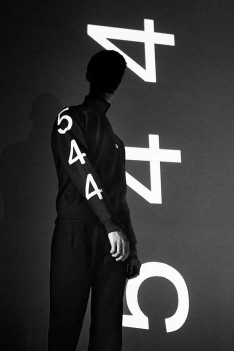 Number-Themed Monochromatic Fashion