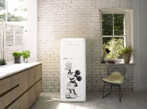 Mickey Mouse-Branded Fridges