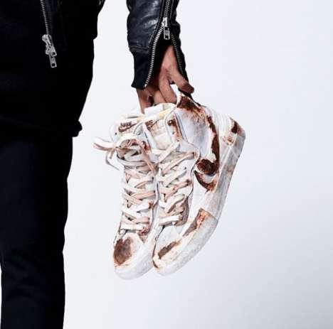 Bespoke Aged Sneaker Designs