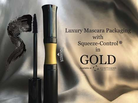 Squeezable Mascara Applicators