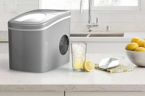 Continuous Ice Cube Makers