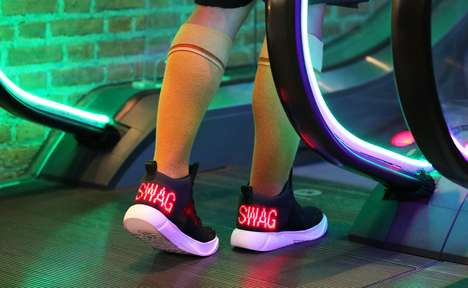LED Display Footwear