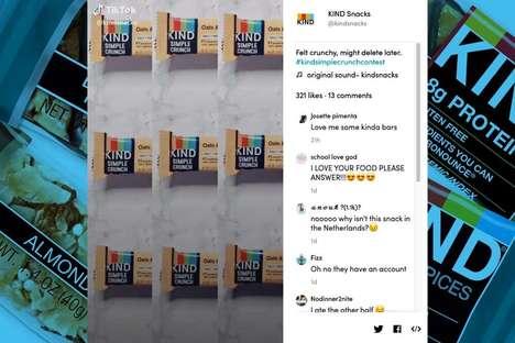 Social Media Snack Challenges