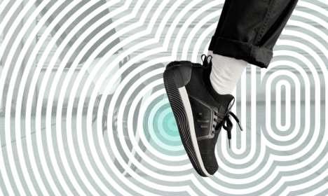 Multi-Sensory Vibrating Sneakers