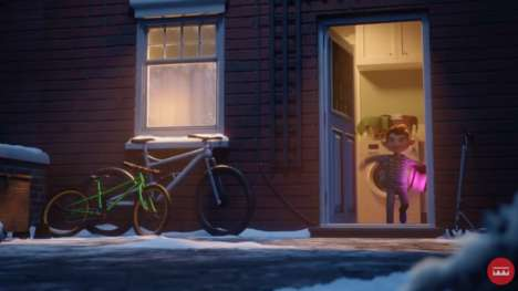 Heartwarming Animated Christmas Ads