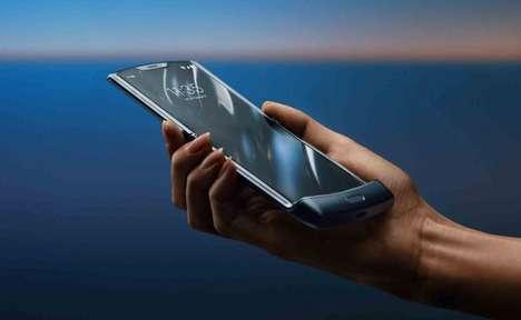 Folding OLED Smartphones