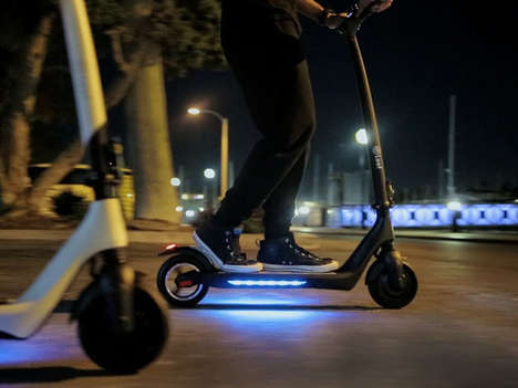 Accessible Urban Commuter Scooters