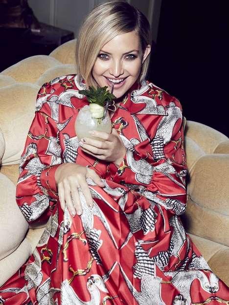 Actress-Branded Vodka Lines