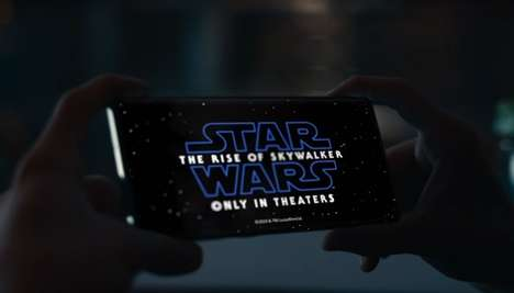Seasonal Sci-Fi Smartphone Ads