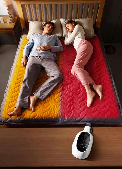 Water-Powered Mattress Warmers