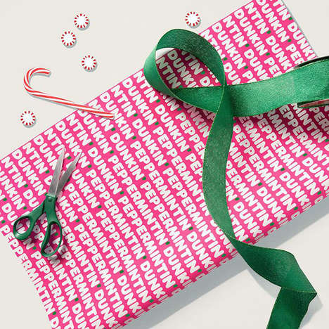 Seasonal QSR Wrapping Papers