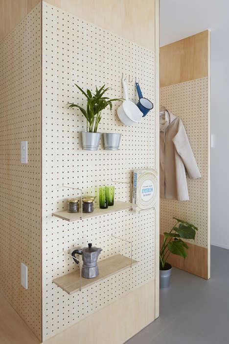 Versatile Plywood Furnishing Designs