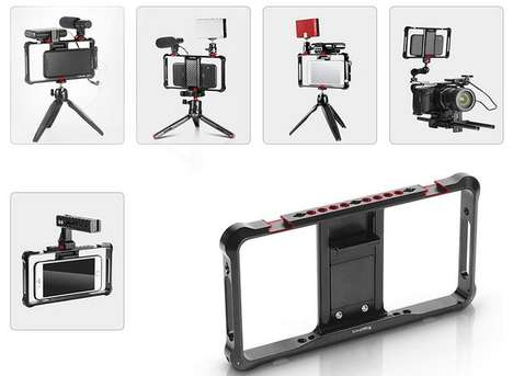 Customizable Vlogger Smartphone Rigs