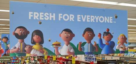 Animated Grocery Ad Campaigns