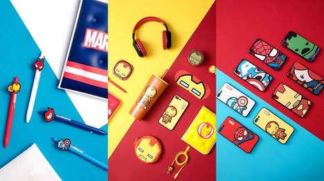 Superhero-Themed Lifestyle Products