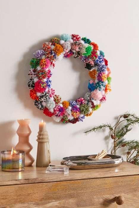 Craft-Inspired Festive Wreaths