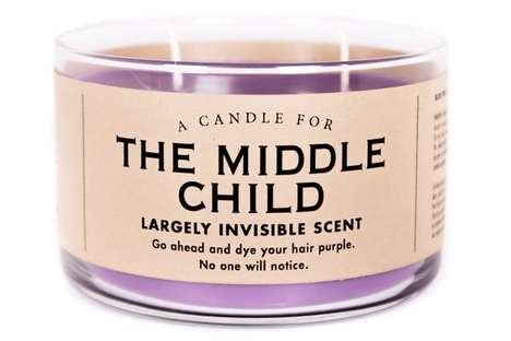 Dedicated Middle Child Candles