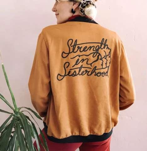 Retro-Inspired Feminist Jackets