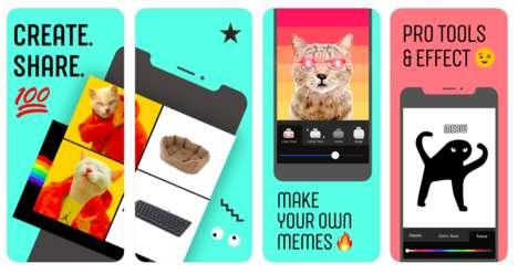 Simplified Meme-Making Apps